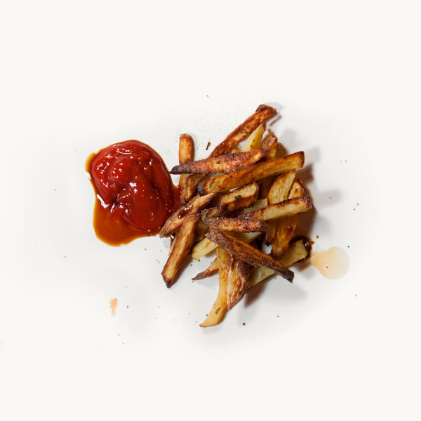 Mélangée avec du Ketchup